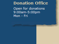 Donation Office Hours